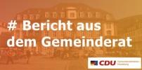 Bericht aus dem Gemeinderat vom 05.10.2017: Stadthalle/Haushaltsabschluss/Gemeinschaftsschulen