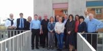 Besuch von Marie-Curie-Schule